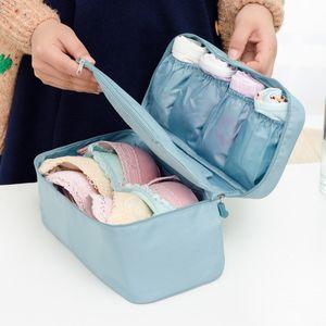 Bra Underwear Socks Lingerie Handbag Organizer Bag Storage Case For Travel Trip Zipper Organizer Bag