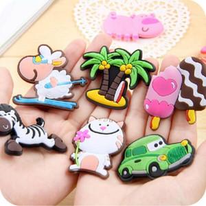 Hayvanlar Çocukluk Yaratıcı Silikon Bebek Yumuşak Erken 0 Magnet Sticker Mıknatıslar Buzdolabı Beyaz Tahta Buzdolabı Dd Popüler bbyLq Şekle 3dc 3d