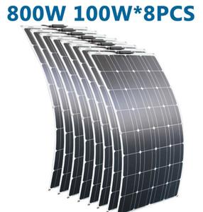 RG المحمولة لوحة شمسية مرنة 16V 800W أحادية السليكون الخلايا الشمسية الالكترونيات الاستهلاكية