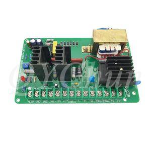 220V permanent magnet DC motor speed controller 500W   800W   1500W high power motor speed regulator