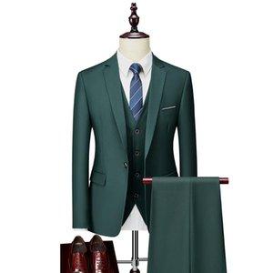 Costumes de mariage pour les hommes Slim Fit Costumes Groom Casual Hommes d'affaires formel Costume Blanc Rouge Jaune Violet Vert Bourgogne Homme 5XL 6XL