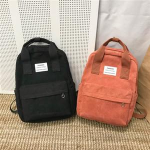 Новая тенденция Женский Рюкзак Женская мода Рюкзак College School Bagpack Harajuku путешествий плечо Сумки для девочек-подростков 2020