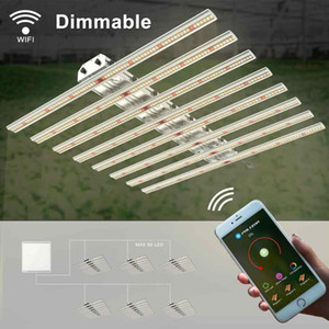 Archibald 640W 8 Bars Led Grow Light Strips Dimmable Full Spectrum Samsung Lm301B Led Chips For Hydroponic Greenhouse Indoor Plants