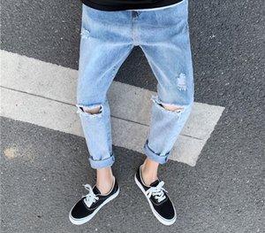 NQ2eS jeans online men's Underwear casual pants trendy versatile straight pants loose trendy ins couple casual celebrity 955