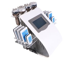New Arrival ! 6 In 1 40K Ultrasonic Cavitation Vacuum Radio Frequency Laser Slimming Machine for Home Use