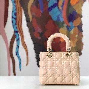 vente à chaud must-have des sacs élégants sacs à main dame à la mode en treillis de diamants de l'épaule de la marque en cuir véritable véritable sheepkin sac bandoulière