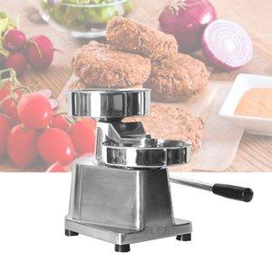 Manuelle Hamburgerpresse Burger-Hersteller-Maschine Runde Fleisch Shaping Aluminium Forming Burger Patty Meat Pie Maker-Küche-Werkzeug Verkauf