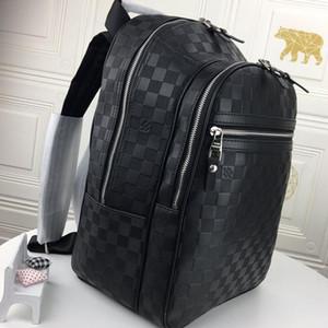 마이클 배낭 남성 가방 고품질 대용량 배낭 Mochila 남성 지퍼 패션 클래식 여행 배낭 Riefsaw 빠른 배달