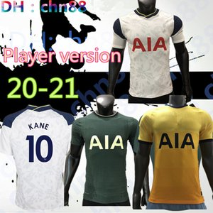 Player version 20 21 KANE SON Bergwijn Ndombele Football Maillots 2020 2021 kit LUCAS DELE maillot TOTTENHAM Maillot de football LO CELSO ACCUEIL BALE