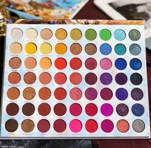 Hot Sale 63 Color Eyeshadow Palette Makeup Palette for Makeup Artist Long Lasting Waterproof&non-tipping Eyeshadow Palette