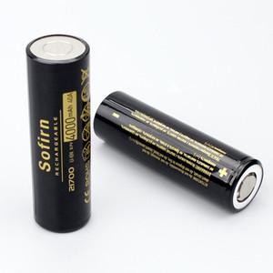 Аккумуляторные батареи Sofirn 21700 4000mAh Батарея 40A 3.7V 10C Литий Разряд 21700 Cell Poweful Высокая Дренажные батареи е ...