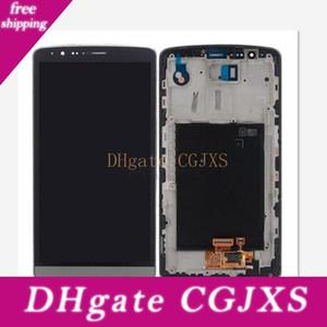 Grande qualidade para LG G3 New Display LCD com tela de toque Original digitador Assembléia para LG G3 D850 D851 D855