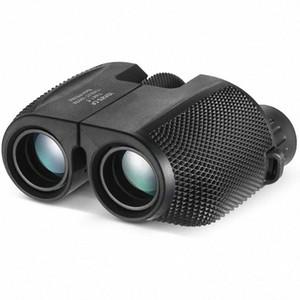 TOP! -Binoculars 10X25 BAK4 موشور السامية بدعم تكبير مجهر المحمولة نطاق الصيد تلسكوب جيب للألعاب الرياضية qWln #