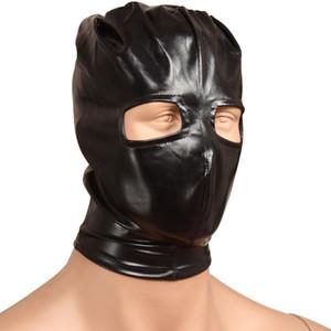 Head Mask SM Bdsm Bondage Hood Headgear Slave Restraint Sex Toys for Women Men Gay