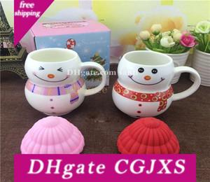 Nuovo regalo di Natale tazza di ceramica del fumetto Seriesc Snowman Cup regalo