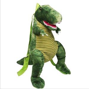 시뮬레이션 여러 가지 빛깔의 유니콘 큰 공룡 어린이 배낭 창조적 인 새로운 만화 장난감 공룡 가방 봉제 장난감 가방