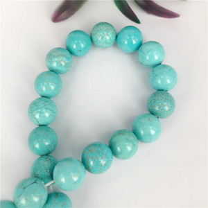 Turquoise Beaded Necklaces 2mm 3mm Optimized Turquoise Natural Stone Fashion Jewelry Gift for Men Women Beads Necklace Bracelets Accessories