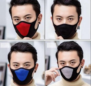 DHL 2020 4 Colors Reusable Face Mask Sports Cycling Outdoor Mouth Masks Winter Keep Warm Reusable Dustproof design masks boom2016