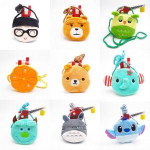Wholesale Free DHL UPS INS Lovely Cute 10cm Christmas Cartoon Kid Bag Purse Handbag 23 Styles Girl Shoulder Bag Animal Lolita Baby Bag