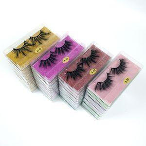 25mm cílios por atacado 10 estilos 3d cílios mink cílios de vison natural longo dramático pestanas maquiagem cílios em granel dhl frete grátis