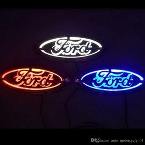 logo 5D auto della lampada del distintivo dell'automobile LED Fanale posteriore per Ford Focus Mondeo Kuga Auto luce del distintivo 14,5 centimetri * 5,6 centimetri GGA1739