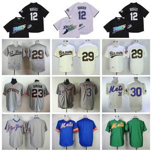 1969 1983 1985 Aposentar 30 Ryder Ryan Jersey 1953 29 Baseball Vintage Satchel Paige 12 Wade Boggs 3 Ian Kinsler 23 Cam Gibson 09