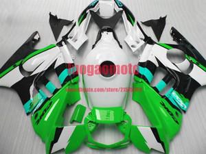 Fairings For Honda green black white CBR600 F3 1997 1998 cbr600 f3 Parts CBR600F3 97 98 CBR 600 F3 cowling Aftermarket Fairing Kit+gifts