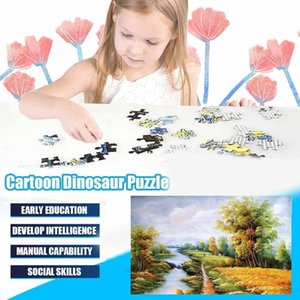 By the river Jigsaw Puzzles 1000 Pieces Puzzle Toys Adults Children Paper Assembling Picture Landscape Games Educational Toy
