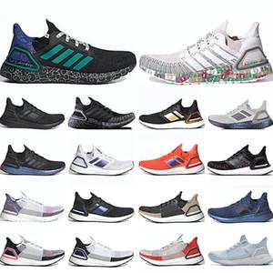 Adidas Ultra Boost 19 Мужчины Женщины Кроссовки Лазерная Красный Темный Pixel Refract Core Ядро Черный Дизайнер Тренер Спортивный Размер 36-47