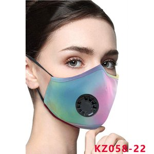 new face mask adult fashion reusable face masks Adjustable ear buckle mask soft breathable anti dust fog mouth masks breathing valve mask