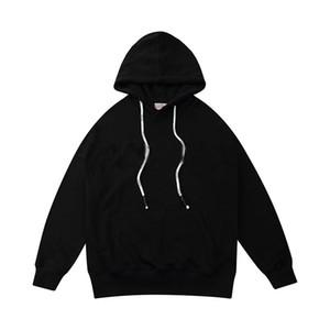 2020 Erkek Giyim Homme Kapşonlu Sweatshirt Erkek Kadın Kapüşonlular High Street Kapüşonlular Kazak Kış Tişörtü Triko yazdır