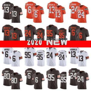 2020 New Men 6 Baker Mayfield 13 Odell Beckham Jr ClevelandBrown 24 Nick Chubb 80 Jarvis Landry 95 Myles Garrett Jersey