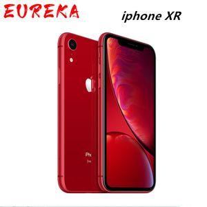 "IPhone XR original de Apple Desbloqueado | 6.1 ""Retina líquida Totalmente Pantalla LCD 64GB / 128GB / 256GB ROM 4G LTE Apple Smartphone"