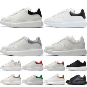 Platform Shoes platform Casual Shoes Дизайнер Повседневная обувь дешевые высокое качество тройной черный белый серый золото мужские женские кроссовки партия туфли на Chaussures