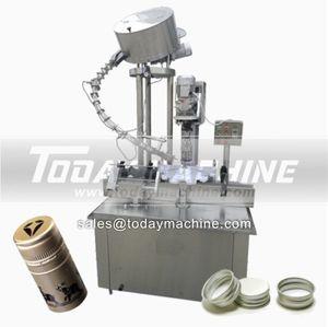 capper sealer machine glass bottle jar vacuum capping machine