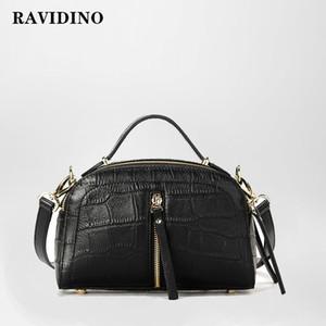 2019 genuína de luxo bolsa de couro Bolsas das mulheres sacos bolsa de ombro bolsa de designer messenger crocodilo mulher impressão handsbag
