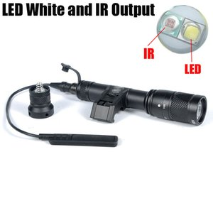 Tactical SF IFM M600V ИК двойной LED белый свет и ИК выход Hunting Rifle фонарик черный