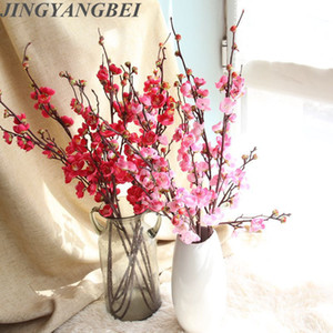 Artificial flower Chinese plum blossom Japanese cherry blossom wedding home wall rose photography set across the border Decorati