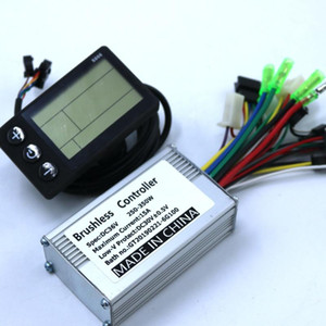 36V 48V 350W 250W BLDC motor controller E-bike brushless speed controller and S866 LCD Display one set