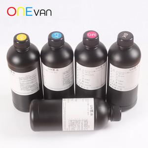 Una botella de 500 ml de tinta suave, impresora cabeza UV de impresión para luces LED, impresora R1390 R1800 L800 L1800 UV A3 / A4UV