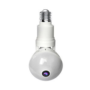 2MP IP Camera Bulb Lamp light Wireless HD 360 Degrees Panoramic WiFi Camera Home Security Video Surveillance Indoor Night Vision