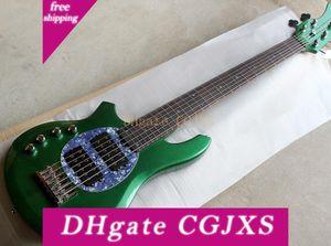 Gauche -handed Guitare basse électrique avec circuit actif, 2 micros, 6 -string, Touche palissandre, de haute qualité, de précision Production, PERSO