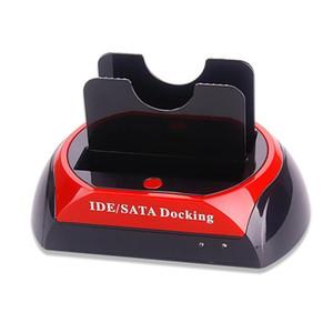الأقراص الصلبة محطة الإرساء المزدوج القرص الصلب الإرساء قاعدة محطة ل2 0.5 بوصة 3 0.5 بوصة IDE / ساتا USB 2 .0
