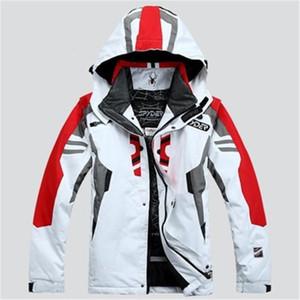 Мужская лыжная Coat паук Лыжная куртка мужская водонепроницаемый теплый ветрозащитный дышащий водонепроницаемый спорт куртка Jaqueta де сноуборд CX200817