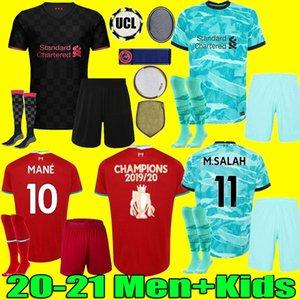 Männer Kinder 2020 2021 rot schwarz grüner Fußball Trikots für Erwachsene 20 21 zu Hause weg dritte 3.e Fußballhemden