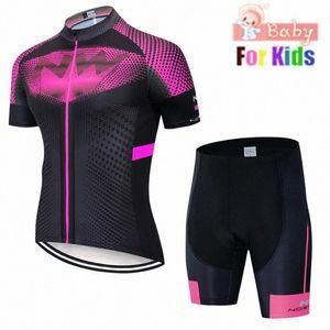 2020 2020 neue Kinder Radtrikot Set Etixx Kinder Fahrradbekleidung Sommer Bike Jersey Quick Dry Fahrrad Anzug Fluoreszenz qZCP #