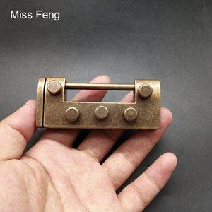 H522 / Новизна Simple Metal Cast Puzzle Блокировка пересобираться Игры разума мозга Пазлы Игрушки Детские