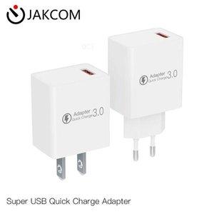 JAKCOM QC3 Súper USB adaptador de la carga rápida de nuevos productos de cargadores de teléfonos celulares como barra de paraguas animales de hojaldre, más desechable