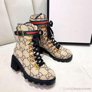 la manera de lujo para mujer de los zapatos ocasionales del cuero Martin botas de gamuza zapatos de las señoras de los deportes respirables botines zapatos de la muchacha de alta calidad con la caja