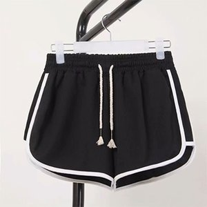 DICLOUD Fashion Summer Casual Shorts Woman 2020 Stretch High Waist Booty Shorts Female Black White Loose Beach Sexy Short S-XXL